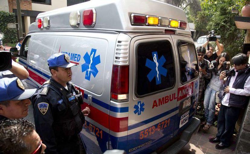 García Márquez habría llegado a su casa en una ambulancia. (Agencias)