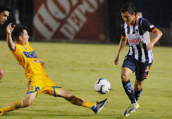 Monterrey yTigres de la UANL es el mejor platillo de la jornada 5, aunque ambos equipos están lejos de su mejor momento competitivo. (Archivo Notimex)