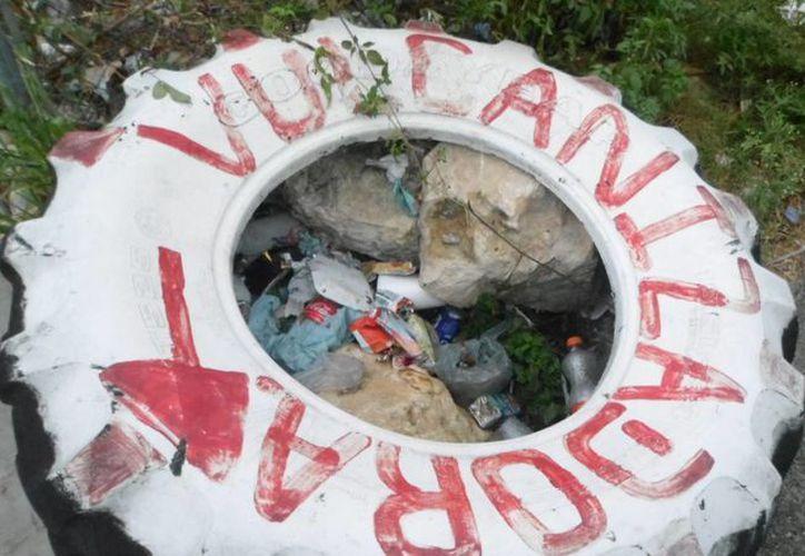 Piden a la población mantener espacios limpios, sin acumulaciones de agua. (Yesenia Barradas/SIPSE)