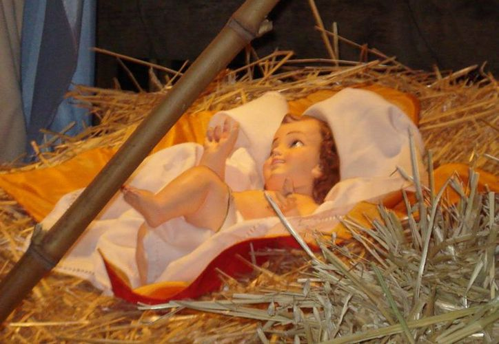 El robo del muñeco que representa al niño Jesús fue registrado el pasado 17 de diciembre en la iglesia luterana San Pedro. (anundis.com)