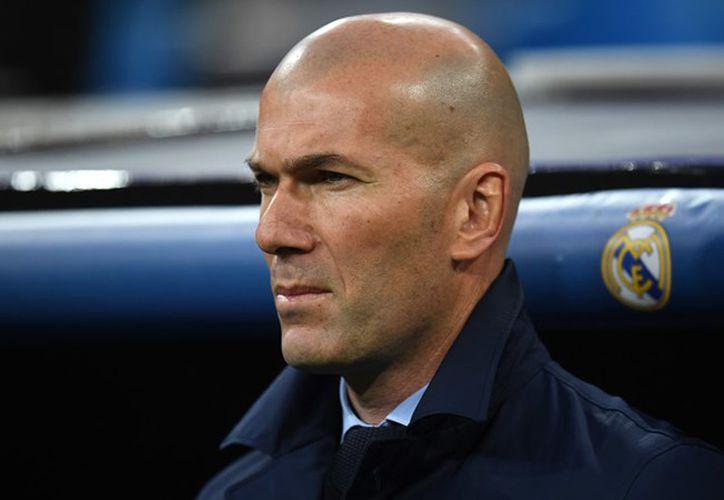 """""""Hay antimadridismo, pero esto nadie lo va a cambiar. La historia de este club nadie la va a cambiar"""", argumentó Zidane. (Foto: Medio Tiempo)."""