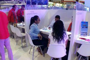 Continúan actividades en el Tianguis Turístico de Acapulco