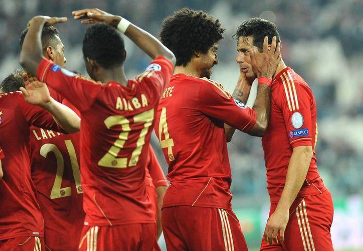 Se espera que el Bayern Munich salga airoso del partido contra Eintracht Braunschweig. (Agencias)