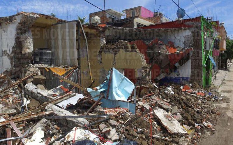 Se registran derrumbes y daños en Oaxaca tras sismo de este sábado