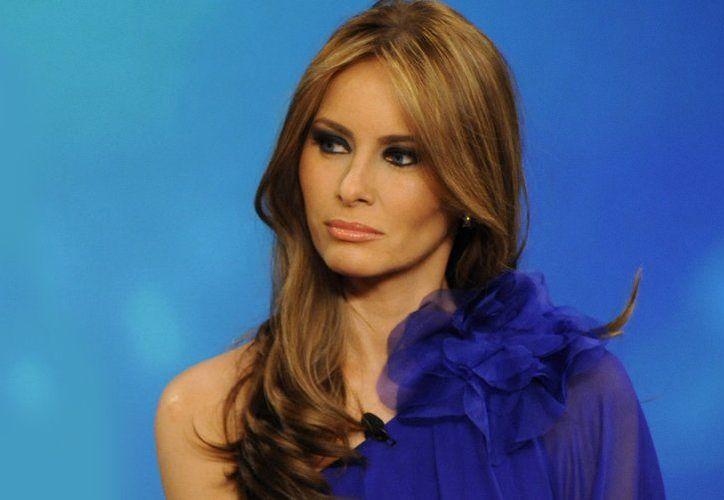 El periódico le pidió una disculpa pública, a la primera dama de Estados Unidos, Melania Trump. (Contexto/Internet)