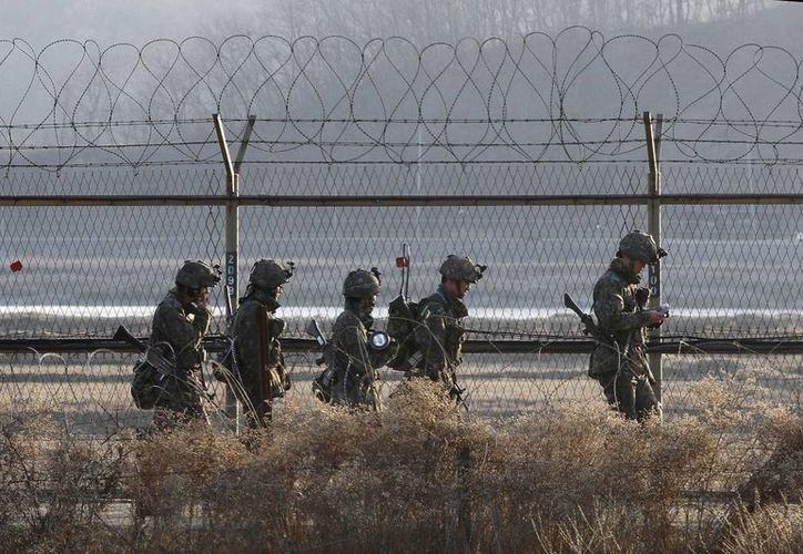 Corea del Norte afirma que todas sus tropas de artillería, misiles y artillería de largo alcance están en alerta de combate. (Agencias)