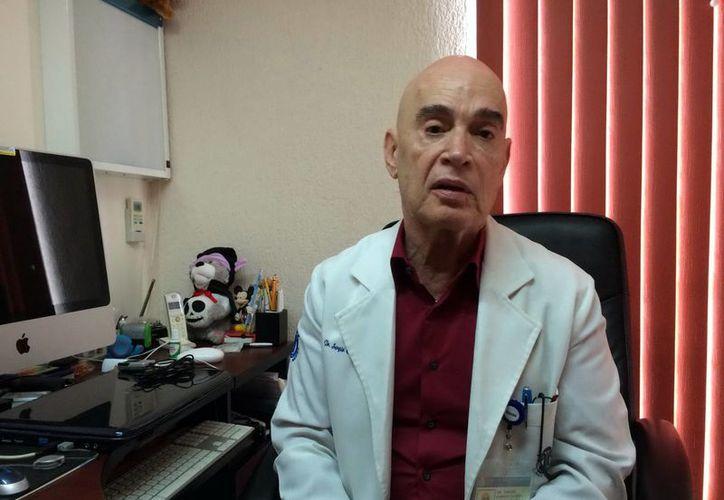 Sergio Cano Montenegro es el nuevo presidente del Colegio de Pediatras de Yucatán. (SIPSE)