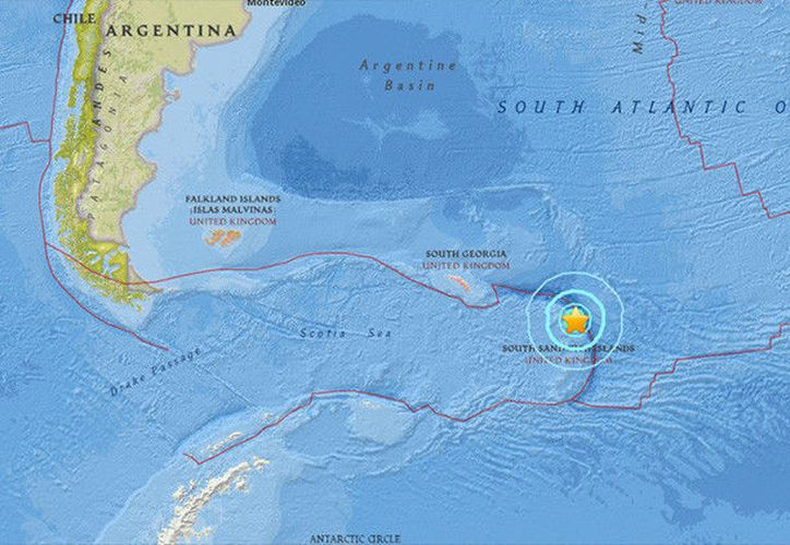 El epicentro del sismo se situó en a una distancia de 113 kilómetros al este noreste de la isla Visokoi. (usgs.gov).