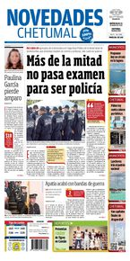 Más de la mitad no pasa examen para ser policía
