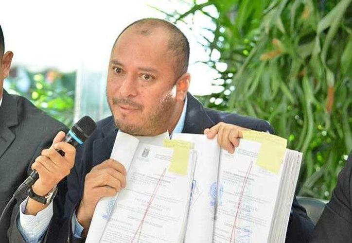 El exsecretario del Ayuntamiento de Cuernavaca denunció comportamientos irregulares del alcalde Cuauhtémoc Blanco Bravo. (Excelsior)