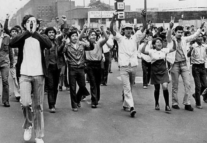 Decenas de manifestantes jóvenes murieron en 1971 en el llamado Halconazo. (eluniversaltv.com.mx/Archivo)