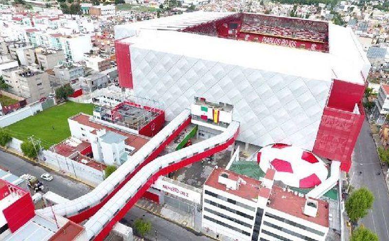 ¡Chulada de estadio! Nemesio Díez de Toluca, el segundo mejor del 2017