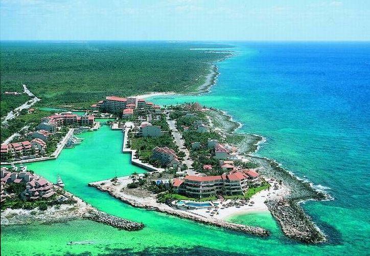 Se le brindó la atención a toda la localidad de Puerto Aventuras, por tratarse de una importante zona de la Riviera Maya. (Foto de Contexto/Internet)