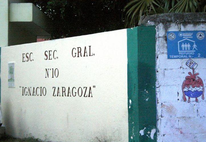 En el municipio, 41 escuelas públicas están avaladas como albergues anticiclónicos. (Carlos Calzado/SIPSE)