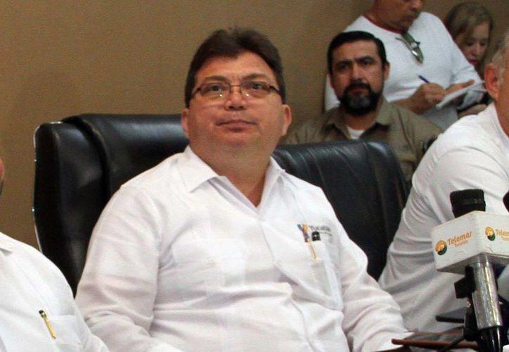 Jorge Eduardo Mendoza Mézquita, secretario de Salud de Yucatán. (Milenio Novedades)
