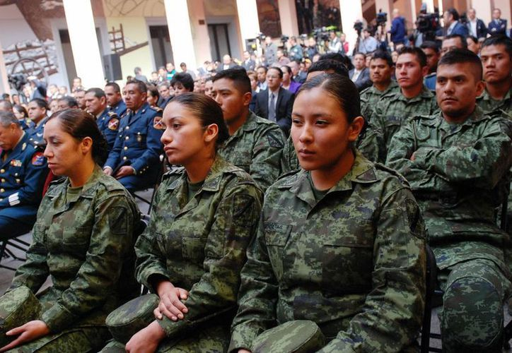 Los nuevos requisitos para pertenecer al Ejército entran en vigor este martes 25 de marzo. (Archivo/Notimex)