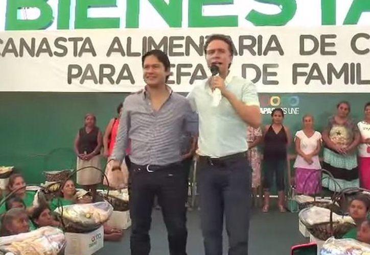 El gobernador de Chiapas, Manuel Velasco, se disculpó públicamente con Luis Alberto a quien le dio una cachetada. (YouTube)
