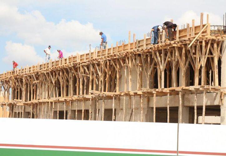 Durante este año se han solicitado 30% más permisos de construcción. (Adrián Barreto/SIPSE)