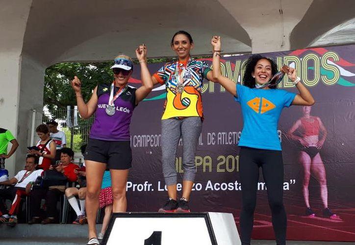 Atletas de Quintana Roo tienen una gran participación en el Campeonato Nacional de Atletismo Máster se desarrolla en la ciudad de Xalapa, Veracruz (Miguel Maldonado/SIPSE)