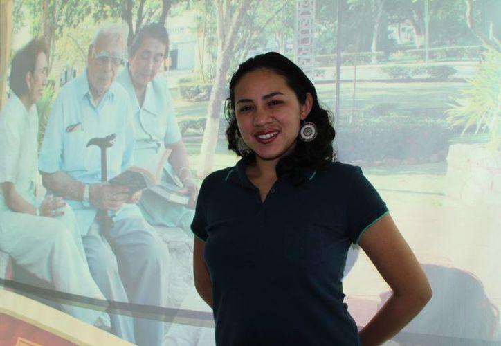 'Queremos fomentar el envejecimiento activo, la realización personal e integración social del adulto mayor', afirmó Yanelli Vega Ojeda. (Milenio Novedades)