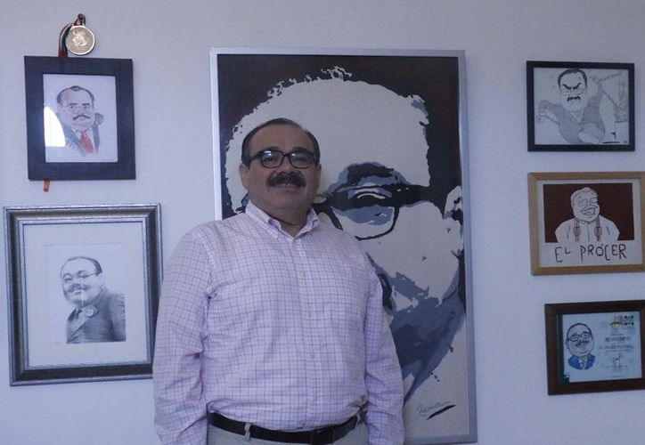 Jorge Carlos Ramírez Marín se visualiza en un año trabajando intensamente por Yucatán. (Fotografía: José Acosta/Milenio Novedades)