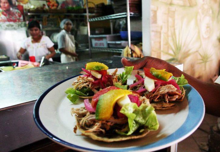 La gastronomía que distingue a Yucatán será uno de los atractivos en el evento a realizarse en la ciudad de México.  (Archivo/SIPSE)