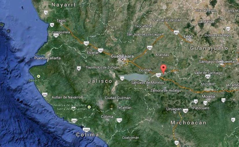 Los autores del crimen contra el alcalde Gustavo Garibay en Tanhuato, Michoacán, siguen prófugos. (Google Maps)