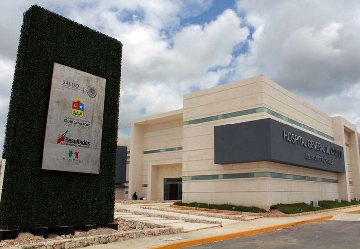 El nuevo hospital está ubicado en la Región 249. (Luis Soto/SIPSE)