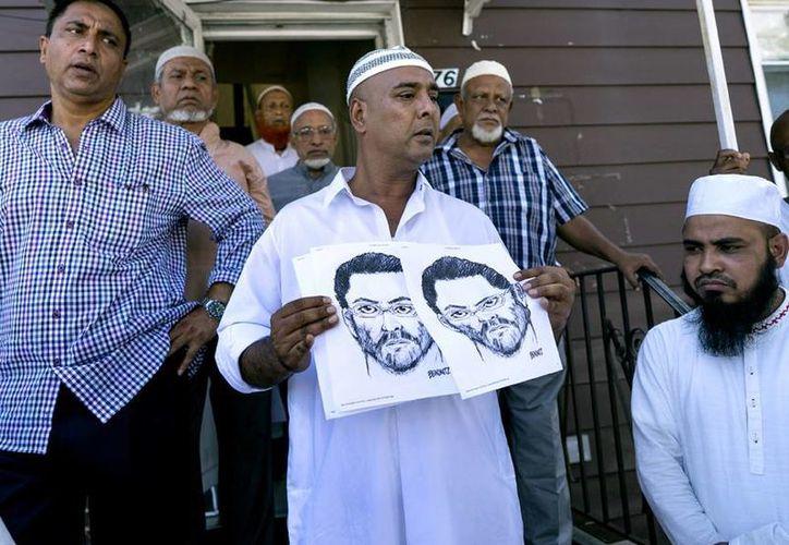 El asesinato del clérigo y su asistente ha levantado protestas entre la comunidad musulmana de Estados Unidos. (AP)