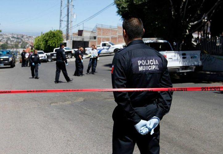 La noche del sábado se reportó un asesinato a balazos en el municipio de Apodaca, Nuevo Léon. La imagen cumple funciones estrictamente referenciales. (Archivo/Notimex)