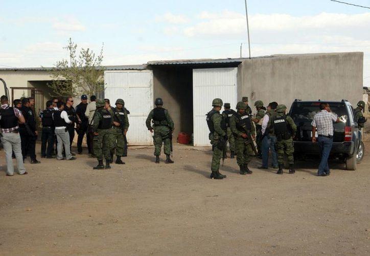 Los operativos del ejercito y las policías locales al norte del país continúan. (Archivo/Notimex)