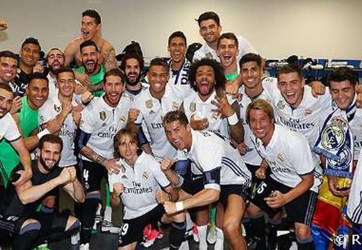 El Madrid intentará ganar en Cardiff su primer doblete liga-Champions en casi 60 años.  (Real Madrid).