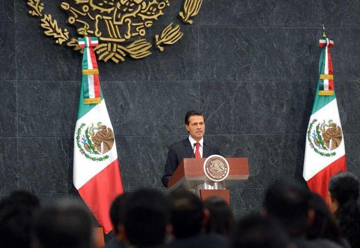 Peña Nieto destaca que entre México y Estados Unidos hay muchos temas que trabajar en conjunto. (Presidencia)