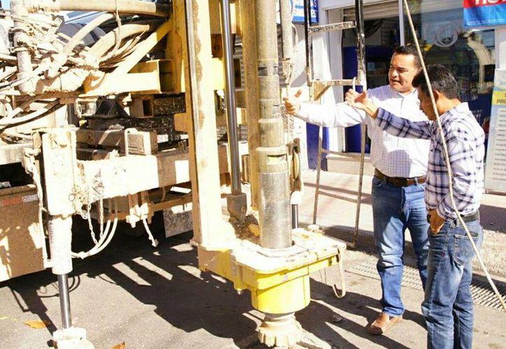 La construcción de los pozos lleva un avance del 80 por ciento. (Milenio Novedades)