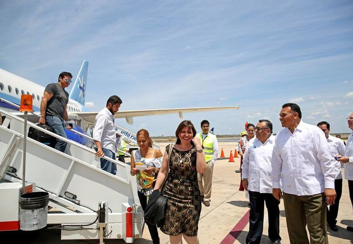 El gobernador Rolando Zapata estará este viernes en la Clausura del foro 'Yucatán por el derecho a la ciudad: México rumbo a Hábitat III'. (Foto del Gobierno de Yucatán)