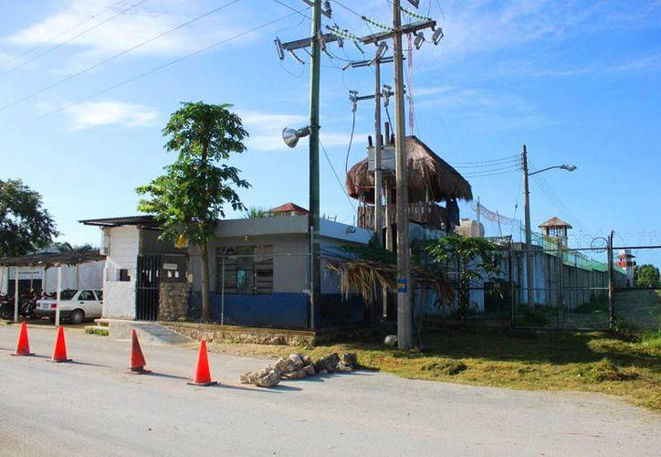 Instalaciones del centro de retención municipal de Playa del Carmen. (Daniel Pacheco/SIPSE)