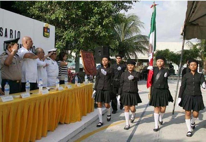 Se realizó en la Escuela Normal Superior Andrés Quintana Roo. (Cortesía/SIPSE)