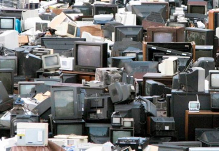 La Comuna de Mérida pone a disposición de la población varios centros de acopio de televisiones analógicas. (Notimex)