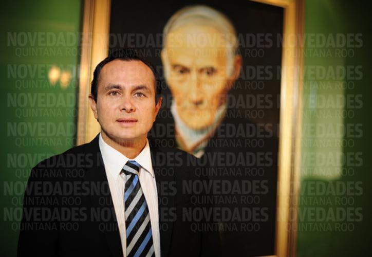 El nombre del ex presidente del Poder Judicial aparece en la lista de seis personas denunciadas penalmente a finales de agosto por la Aseqroo. (Joel Zamora/SIPSE)