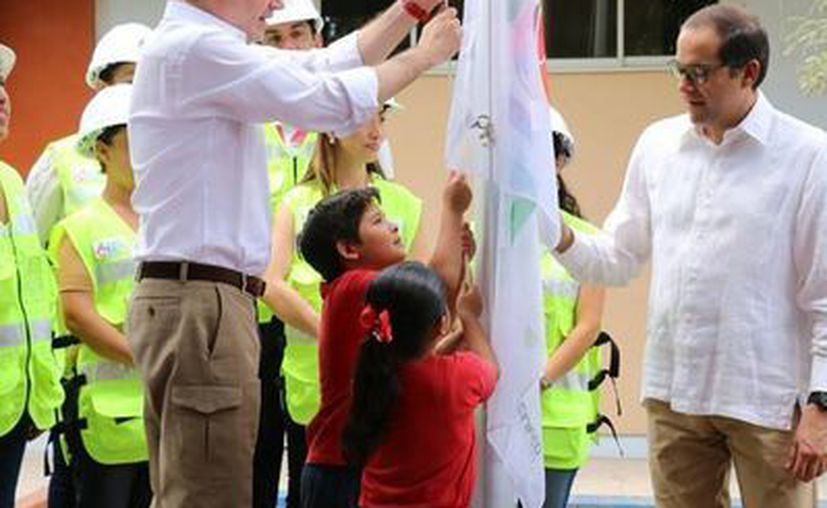 Aurelio Nuño, secretario de Educación, destacó que para el programa Escuelas al CIEN hay un presupuesto de 50 mil millones de pesos. (Secretaría de Educación Pública)