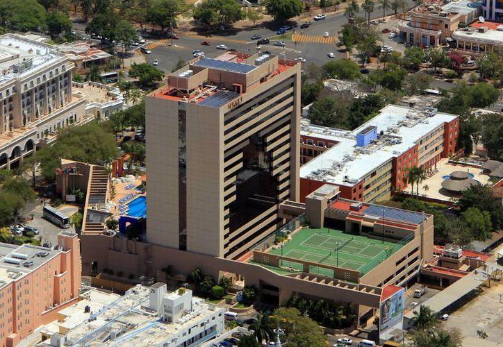 Los hoteles en Mérida están construidos para resistir los fenómenos hidrometeorológicos que afectan la región. (SIPSE)