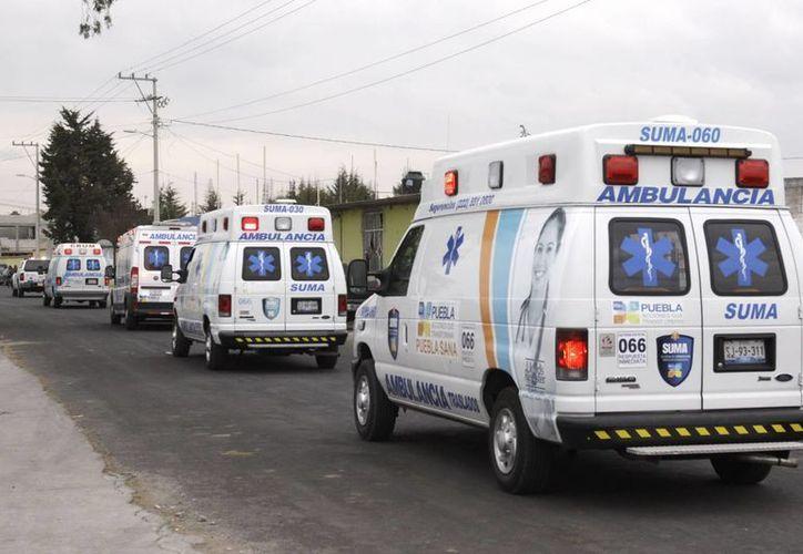 Decenas de feligreses resultaron con lesiones muy graves. (Notimex)