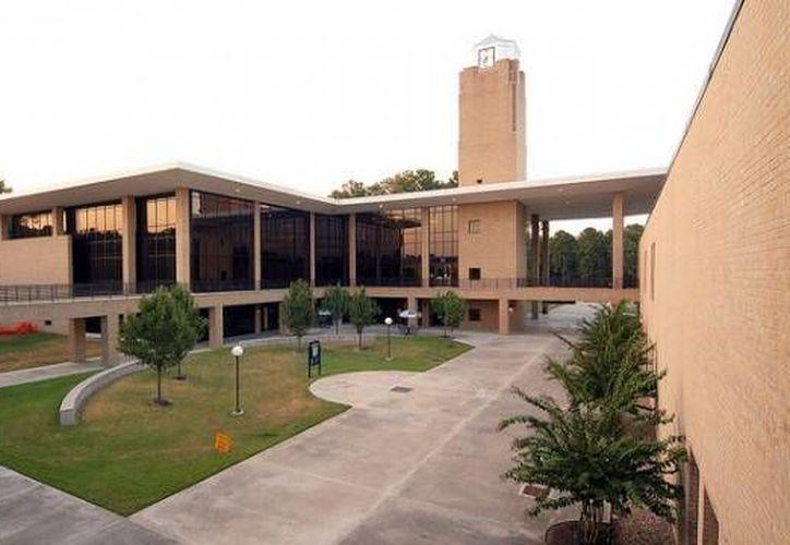 Campus North Harris, perteneciente al Lone Star College donde ocurrió el atentado. (www.blog.chron.com/Archivo)