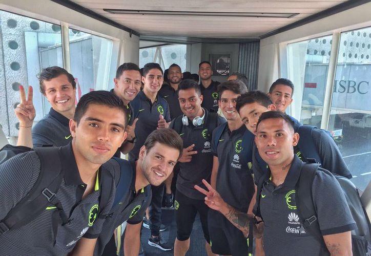 El equipo azulcrema estará en Playa del Carmen del 12 al 23 de junio. (Foto: Club América/Twitter)