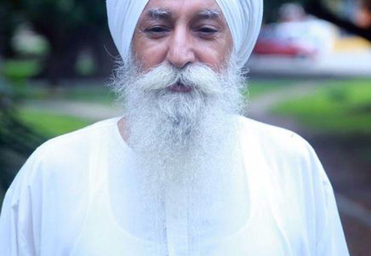 Arjan Singk Khalsa, originario de la India y radicado en México. (Luis Soto/SIPSE)