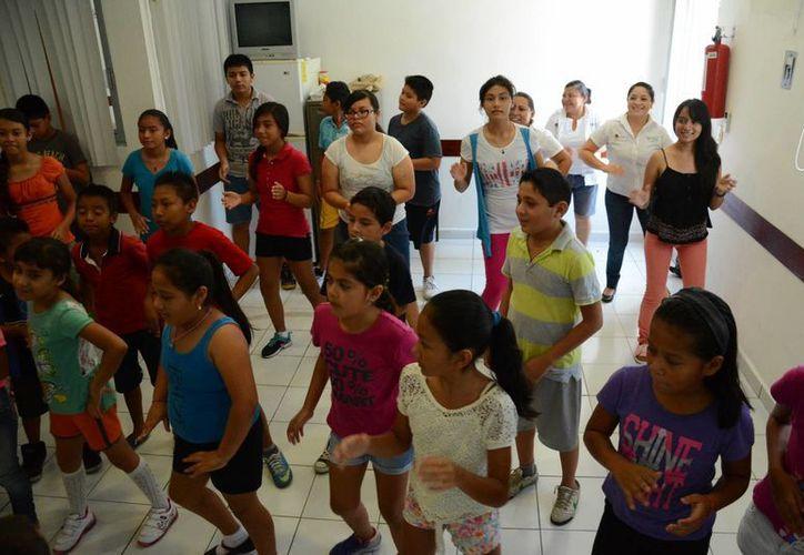 Durante las actividades se vive mucha diversión. (Victoria González/SIPSE)