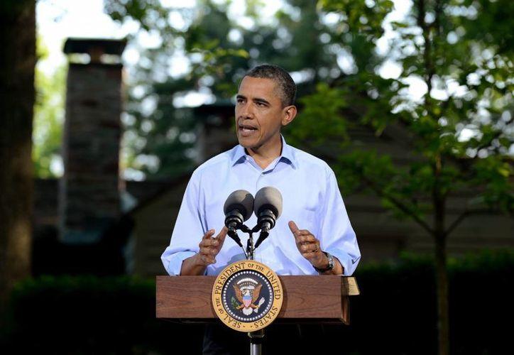 Obama trata de justificar la incursión en Siria ante los legisladores. (EFE)
