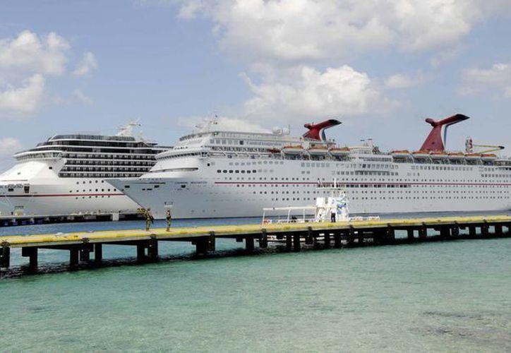 La Convención de Cruceros inició el día de ayer en Cozumel. (Redacción/SIPSE)
