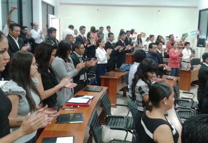 El evento contó con la asesoría de la Organización de las Naciones Unidas. (Francisco Sansores/SIPSE)