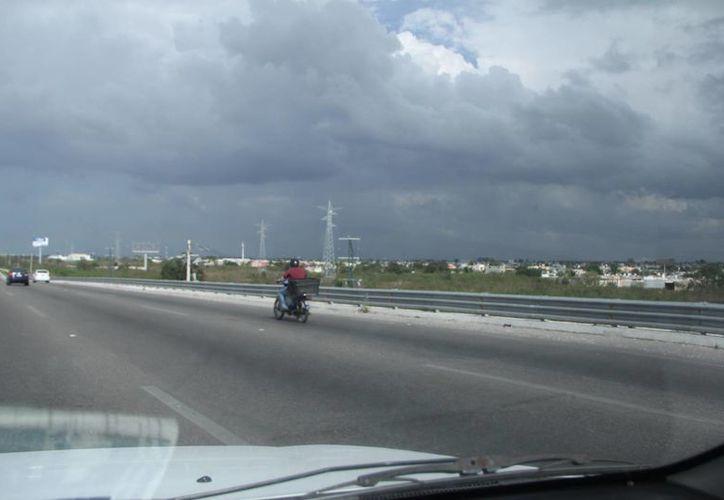 El sábado se presentaron algunos nublados por la tarde pero, al menos en Mérida, no se presentaron lluvias. (SIPSE)